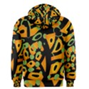 Abstract animal print Men s Zipper Hoodie View2