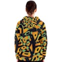 Abstract animal print Women s Zipper Hoodie View2