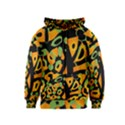 Abstract animal print Kids  Zipper Hoodie View1