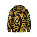 Abstract animal print Kids  Zipper Hoodie View2
