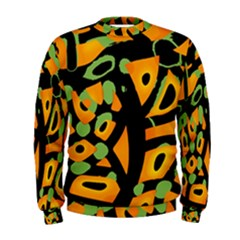 Abstract animal print Men s Sweatshirt