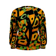 Abstract animal print Women s Sweatshirt