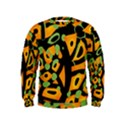 Abstract animal print Kids  Sweatshirt View1