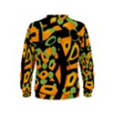Abstract animal print Kids  Sweatshirt View2