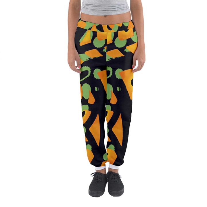 Abstract animal print Women s Jogger Sweatpants