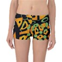 Abstract animal print Reversible Boyleg Bikini Bottoms View3