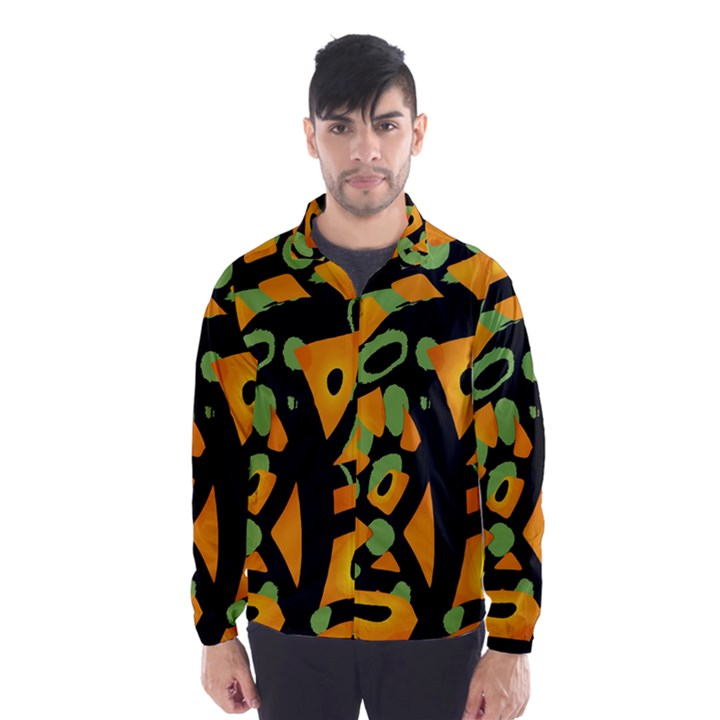 Abstract animal print Wind Breaker (Men)