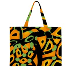 Abstract animal print Large Tote Bag