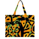 Abstract animal print Large Tote Bag View1