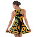 Abstract animal print Cotton Racerback Dress View2