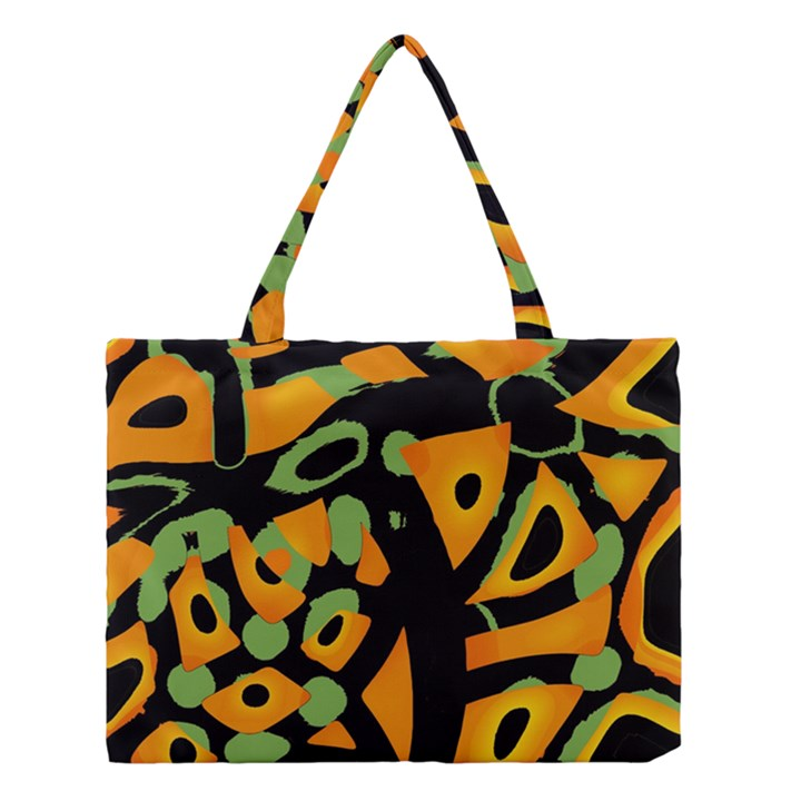 Abstract animal print Medium Tote Bag