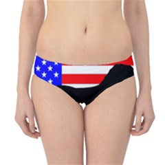 Australian Shepherd Silo Usa Flag Hipster Bikini Bottoms