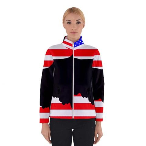 Australian Shepherd Silo Usa Flag Winterwear