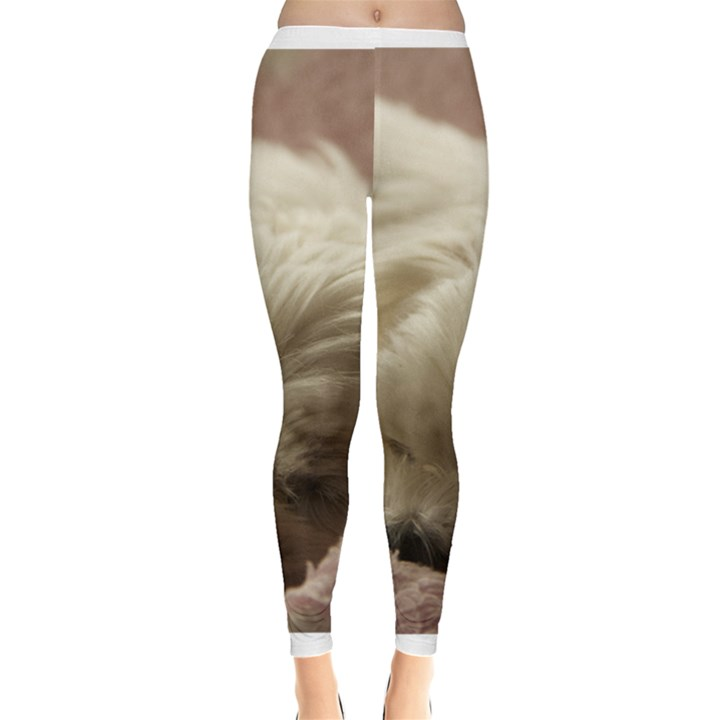 Maltese Sleeping Leggings