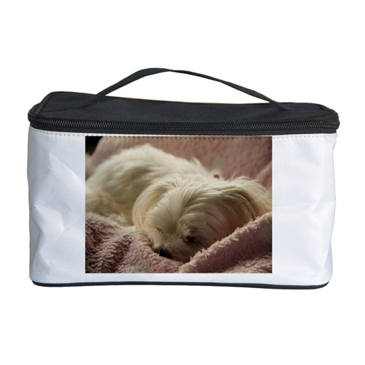 Maltese Sleeping Cosmetic Storage Case