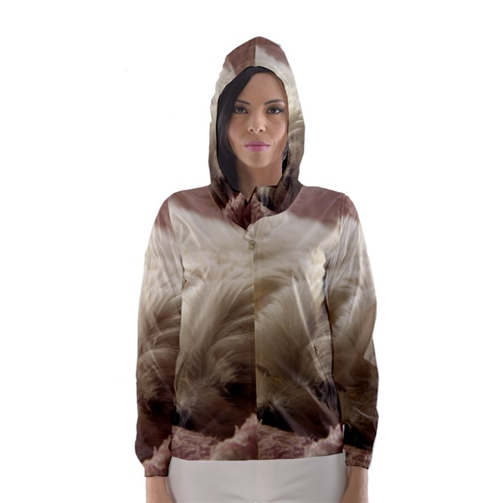 Maltese Sleeping Hooded Wind Breaker (Women)