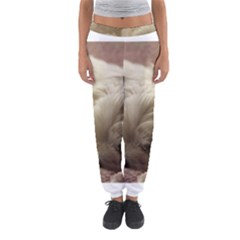 Maltese Sleeping Women s Jogger Sweatpants