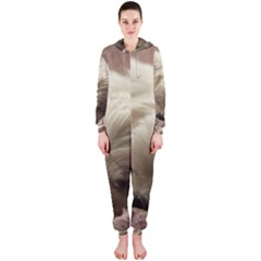 Maltese Sleeping Hooded Jumpsuit (Ladies)