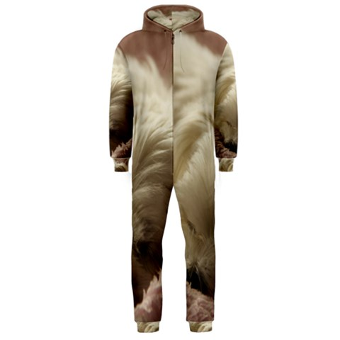 Maltese Sleeping Hooded Jumpsuit (Men)
