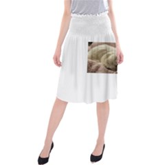 Maltese Sleeping Midi Beach Skirt