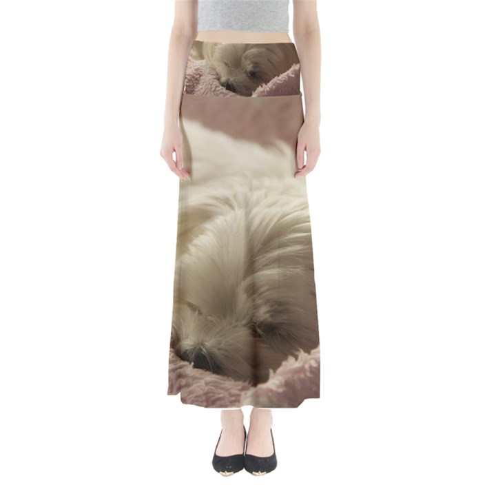 Maltese Sleeping Maxi Skirts