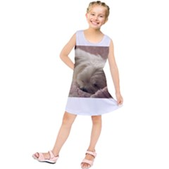 Maltese Sleeping Kids  Tunic Dress