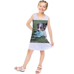 Blue Merle Miniature American Shepherd Love W Pic Kids  Tunic Dress