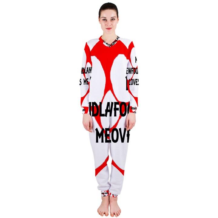 My Newfie Loves Me OnePiece Jumpsuit (Ladies)