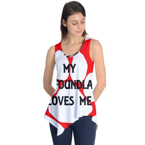 My Newfie Loves Me Sleeveless Tunic