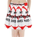 My Newfie Loves Me Pleated Mini Skirt View1