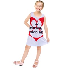 My Newfie Loves Me Kids  Tunic Dress
