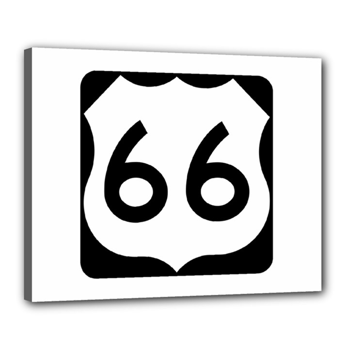 U.S. Route 66 Canvas 20  x 16
