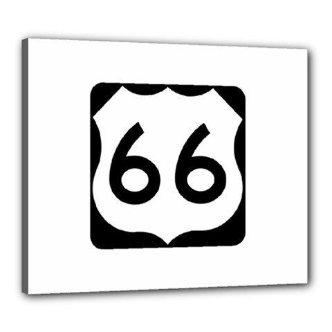 U.S. Route 66 Canvas 24  x 20