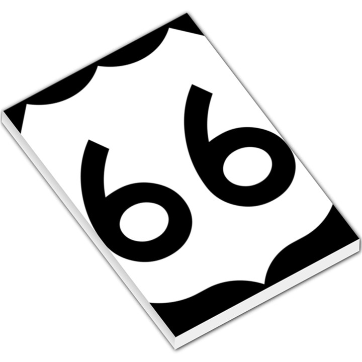 U.S. Route 66 Large Memo Pads