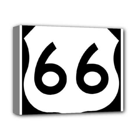 U.S. Route 66 Deluxe Canvas 14  x 11