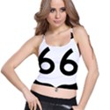 U.S. Route 66 Spaghetti Strap Bra Top View1