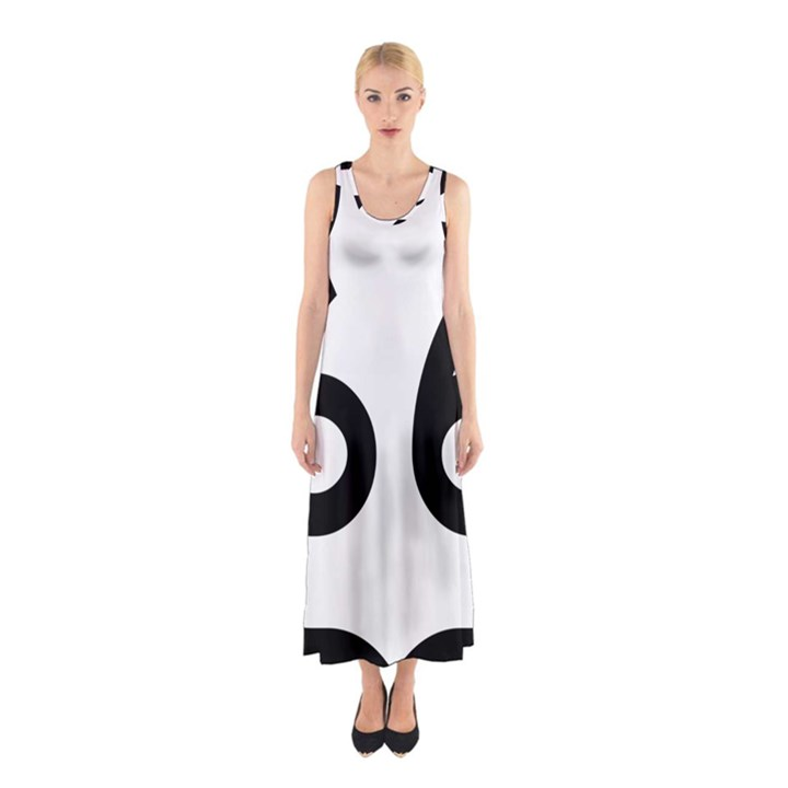 U.S. Route 66 Sleeveless Maxi Dress
