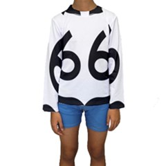 U.S. Route 66 Kids  Long Sleeve Swimwear