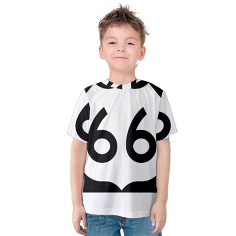U.S. Route 66 Kids  Cotton Tee