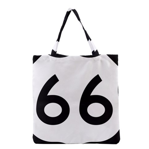U.S. Route 66 Grocery Tote Bag
