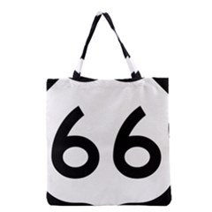 U S  Route 66 Grocery Tote Bag