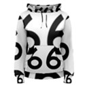 U.S. Route 66 Women s Pullover Hoodie View1