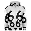 U.S. Route 66 Men s Zipper Hoodie View1