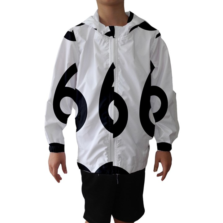 U.S. Route 66 Hooded Wind Breaker (Kids)