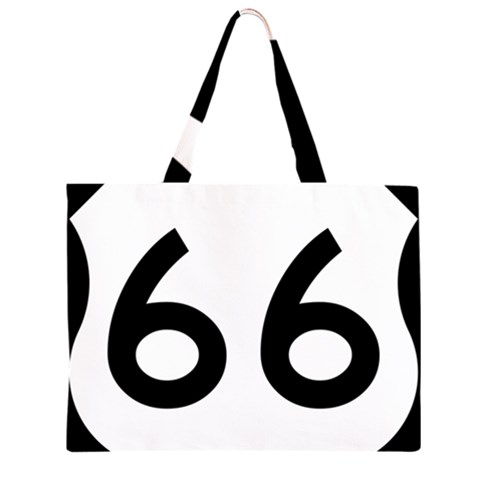 U.S. Route 66 Large Tote Bag