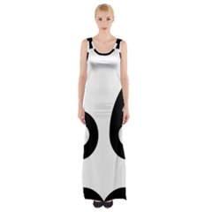 U.S. Route 66 Maxi Thigh Split Dress