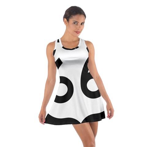 U.S. Route 66 Cotton Racerback Dress