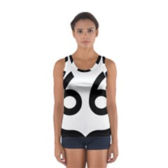 U S  Route 66 Women s Sport Tank Top