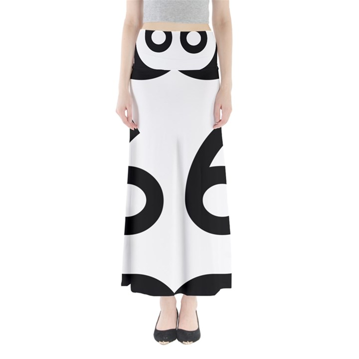 U.S. Route 66 Maxi Skirts