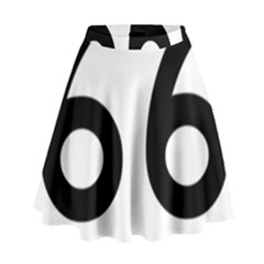 U S  Route 66 High Waist Skirt